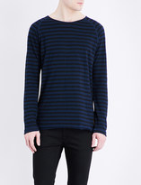 Nudie Jeans Otto cotton-jersey top
