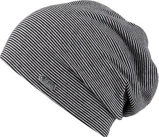 Pittsburgh Oversize Beanie Chillouts Long Beanie DamenmAtze (One Size - black)