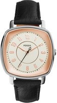 Fossil Women's 'Idealist' Leather Strap Watch, 38Mm