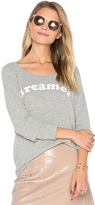 Chaser Dreamer Pullover in Gray. - size L (also in M,S,XS)
