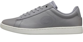 Lacoste Womens Carnaby Evo Trainers Grey/Off White