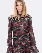 Maison Scotch All-Over Printed Top