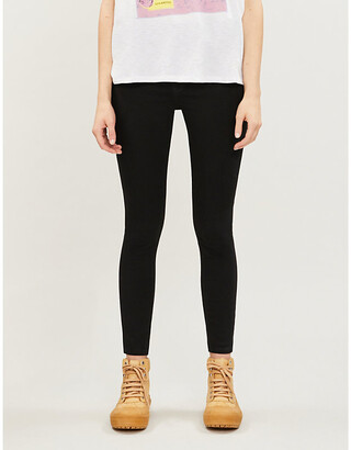 Levi's 720 skinny high-rise stretch-denim jeans