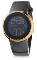 Gucci Swiss Made Digital TM 501 Leather Strap Watch