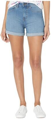 Vans High-Rise Roll Cuff Shorts (Archive Wash) Women's Shorts