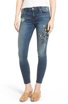 Women's Sts Blue Embroidered Skinny Jeans