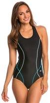Champion Women's Body Mapped Racer Tank One Piece Swimsuit 8137522