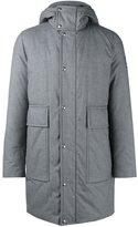Moncler Gamme Bleu padded hooded coat