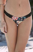 rhythm Flowerdaze Tropic Lace Trim Bikini Bottom