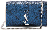 Saint Laurent Small Monogram Glitter Chain Bag