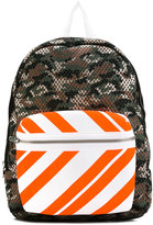 Joshua Sanders camouflage print backpack - unisex - Leather/Polyester - One Size