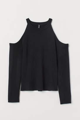 H&M Cold shoulder jumper