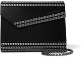 Jimmy Choo Candy Chain-embellished Acrylic Clutch - Black