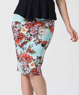 Floral Pencil Skirt - ShopStyle