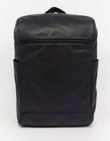 Asos Backpack With Zip Top