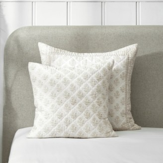 The White Company Provence Cushion Cover, White Natural, Large Square