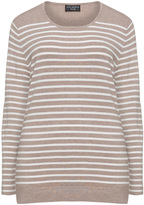 Via Appia Plus Size Fine knit striped jumper