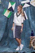 Shabby Apple Marina Pencil Striped Skirt
