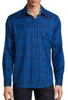 Robert Graham Dark Matter Dotted Shirt