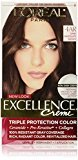 L'Oreal Excellence Creme, 4AR Dark Chocolate Brown, (Packaging May Vary)