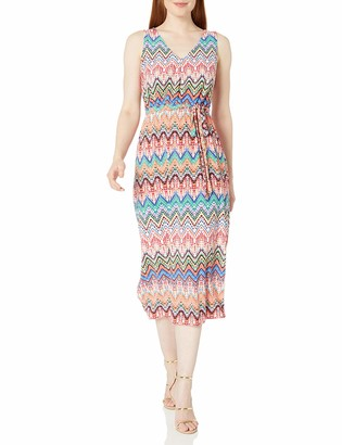 Nine West Women's Sleeveless Midi Dress