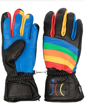 Rossignol Rainbow Detail Sheepskin Gloves