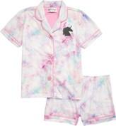 PJ Salvage Notch Collar Two-Piece Pajama Set