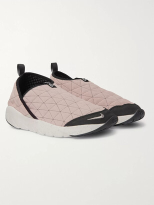 Nike Acg Moc 3.0 Quilted Nubuck Sneakers