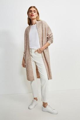 Karen Millen Super Soft And Cosy Longline Cardigan
