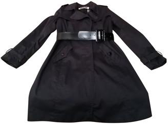 Tara Jarmon Black Cotton Trench coats