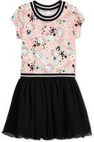 Hello Kitty Graphic-Print Tutu Dress, Little Girls (4-6X)