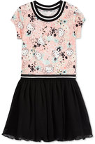 Hello Kitty Graphic-Print Tutu Dress, Toddler and Little Girls (2T-6X)