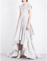 Toni Maticevski Conspire ruched cotton-blend dress