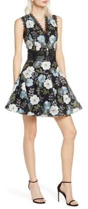Bronx and Banco Palette Floral Minidress