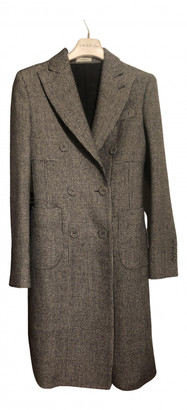 Lardini Black Wool Coats