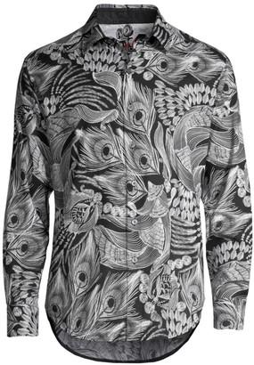 Robert Graham Classic-Fit Samson & Delilah Print Shirt
