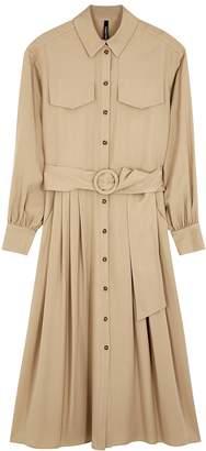 Palones Sand belted Tencel shirt dress
