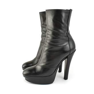 Louis Vuitton \N Black Leather Ankle boots