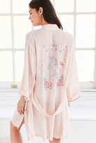 Out From Under Unicorn Embroidered Robe