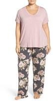 PJ Salvage Plus Size Women's Stretch Modal Pajamas