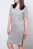 Ichi Ribbed Tee Dress