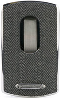 Ermenegildo Zegna herringbone cardholder - men - Calf Leather - One Size