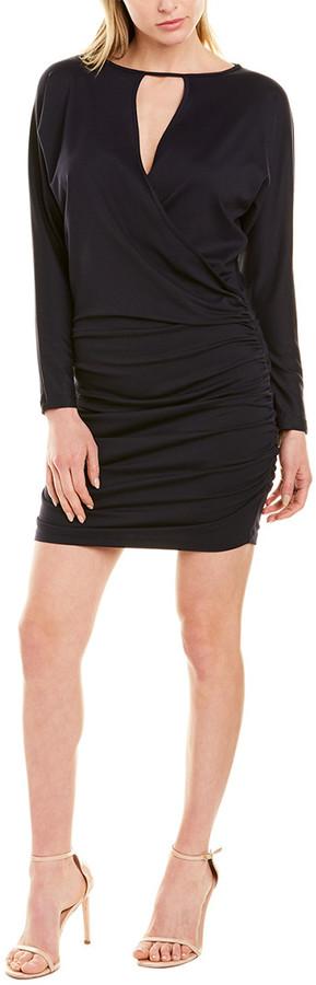 Susana Monaco Ruched Cutout Sheath Dress
