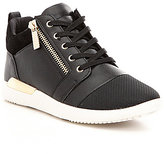 Aldo Naven High-Top Side Zip Lace-Up Sneakers