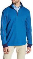 Robert Graham Prescott Funnel Neck Long Sleeve Classic Fit Pullover Sweater