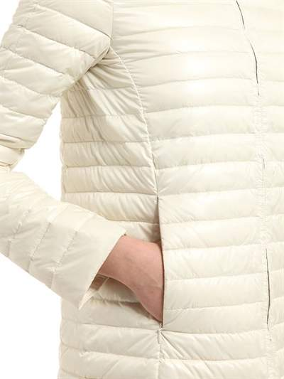 Duvetica Eledhwen Quilted Nylon Long Down Jacket