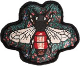 Gucci Embroidered Bee Pillow