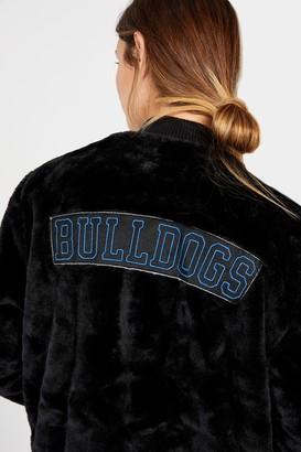 Nrl Womens Fur Bomber Jacket