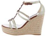 Louis Vuitton Espadrille Wedge Sandals