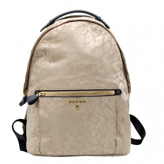 Michael Kors Beige Synthetic Backpacks